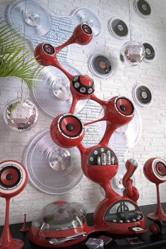 SPHEREBALL HIFI SYSTEM by Farins