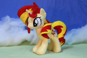 Sunset Shimmer Plush 2 by nekokevin
