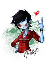 Marshall Lee - Version With Blood by JinxCrest101