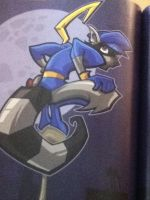 Sly Cooper Looking At You by Deathnightwolf