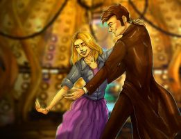 The Doctor Dances by AriaDog