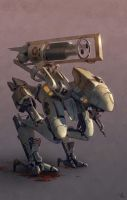 Heavy Scout Mech by Venishi