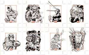 Marvel Bronze Age Sketchcards 2 by ElfSong-Mat