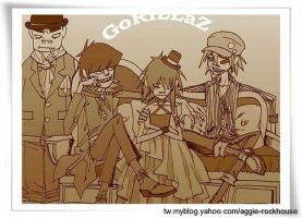 Gorillaz is family by poi333p