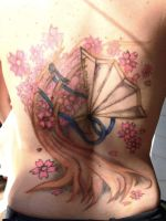 Tattoo - Cherry Blossom by Lovlie