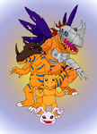 Agumon and Co. by its-a-digiconspiracy