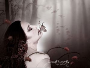 Butterfly 's Kiss by MelieMelusine