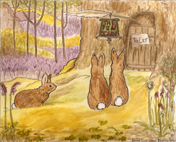 Cecily Parsley- Beatrix Potter by TamHorse