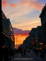Oxford street, London _ by burcyna