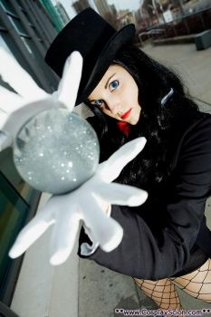 My name is Zatanna Zatara by The-Cosplay-Scion