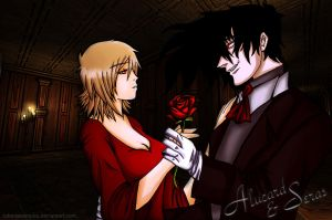 Dance with me, my servant. - Alucard X Seras by robertavampire
