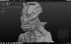 First Scupltris Model by CodyCurtin