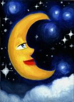 Moon by asuo