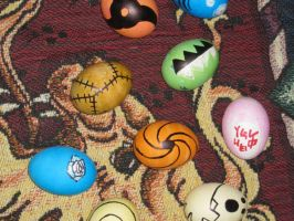 Spiffy Late Easter Eggs by Jettalli