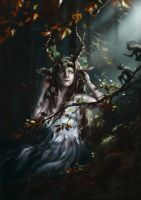 The Lady Faun by Morgainelefee