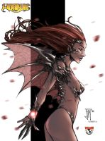 Manapuls witchblade colored by beretta92