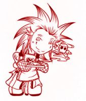 Chibi Axel - Evil Cakes by brendab432