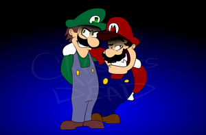 Weegee and Malleo by ClassicsAreDEAD