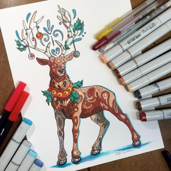 337- Reindeer by Lucky978