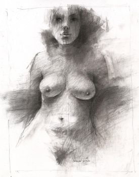 charcoal nude by derekjones