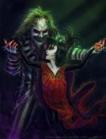 Beetlejuice, Beetlejuice... by cinemamind