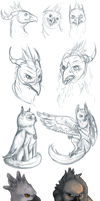 Stream doodles by RosiArts