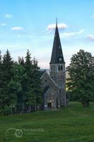 Small church in Zieleniec by 0dyseusz