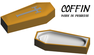 Coffin W.I.P. by The-Horrible-Mu