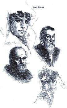 Zorn Studies by FUNKYMONKEY1945
