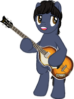 Pony request 8 - Paul McCartney by ah-darnit