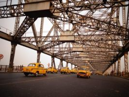 city of yellow taxis by ross-rae