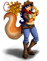 Cowgirl Carmelita by SnookumsGal