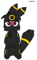 Chibi Umbreon by FluffyFerret97