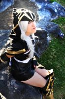 Ashe League of legends 5 by spacechocolates
