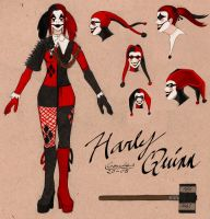 Harley Quinn Redesign by Liamythesh