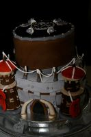 Horde grooms cake by see-through-silence