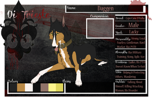 Daggen :: MafiaDogs :: Di Trieste Application by SilentRemembrance