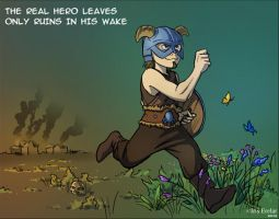 The real Hero IV by IrisErelar