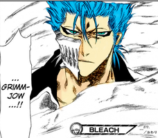 Grimmjow colored by sparklingwater