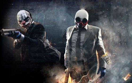 Payday 2 Custom Wallpaper by DaveCreator