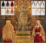 Queen Of Lions - HAIR STOCK by Trisste-stocks
