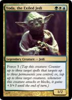 Yoda - MTG Card by Warrior-Within