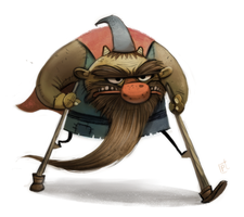 Day 744# #RumpelStiltskin by Cryptid-Creations