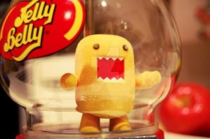 Domo you are NOT a jellybean by OliviaNooblets