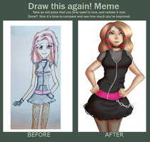 Before and after by xSexyWafflesx