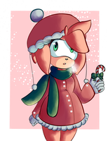 Amy Rose - A Winter Wonderland by MagicalCustardSquire