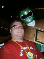 Me and Green Ranger by enterprisedavid