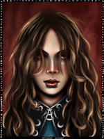 Hermione Granger card by Patilda