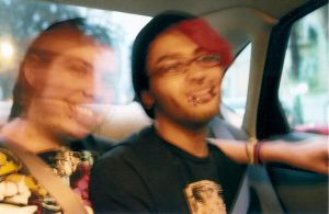 Riding in cars with boys. by loadedwatergun
