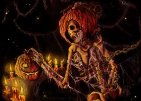 the pumpkin reaper by arumise